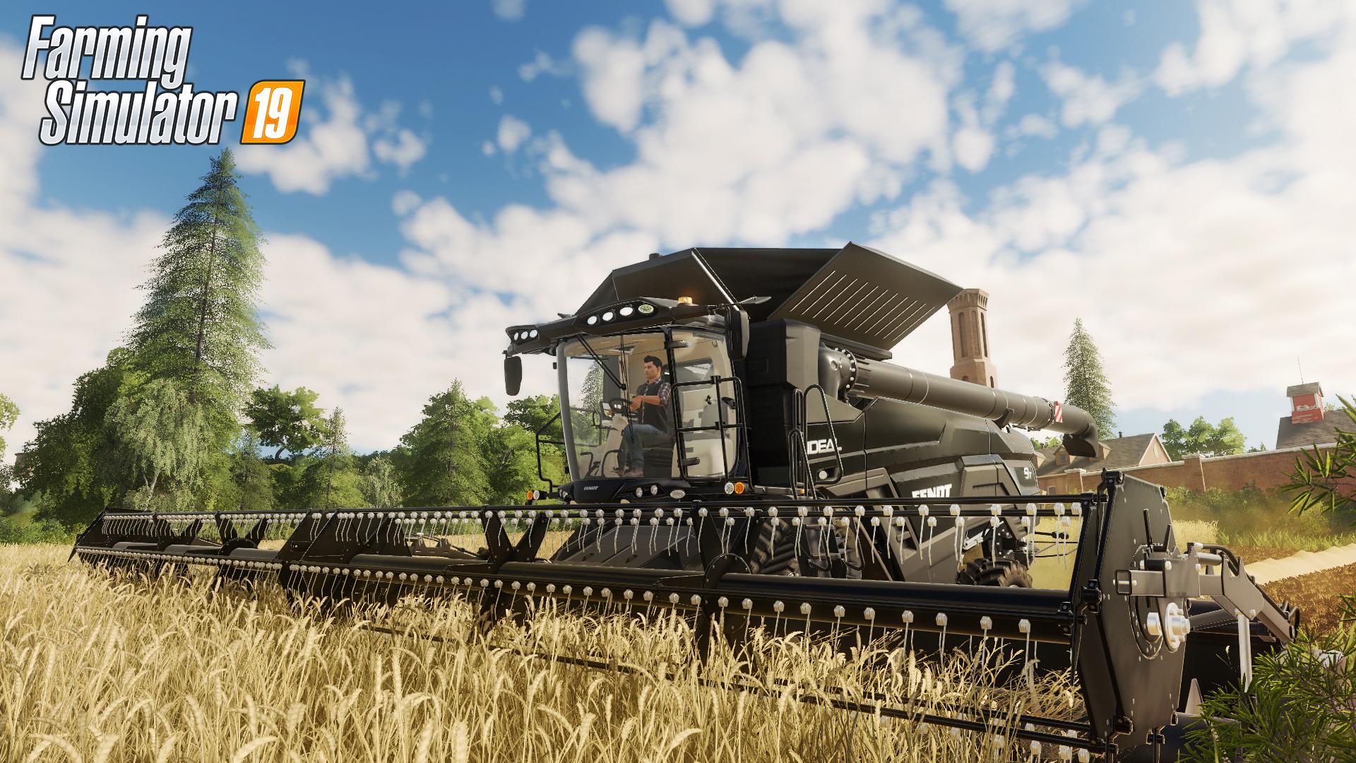 Farming Simulator 19 video trailer