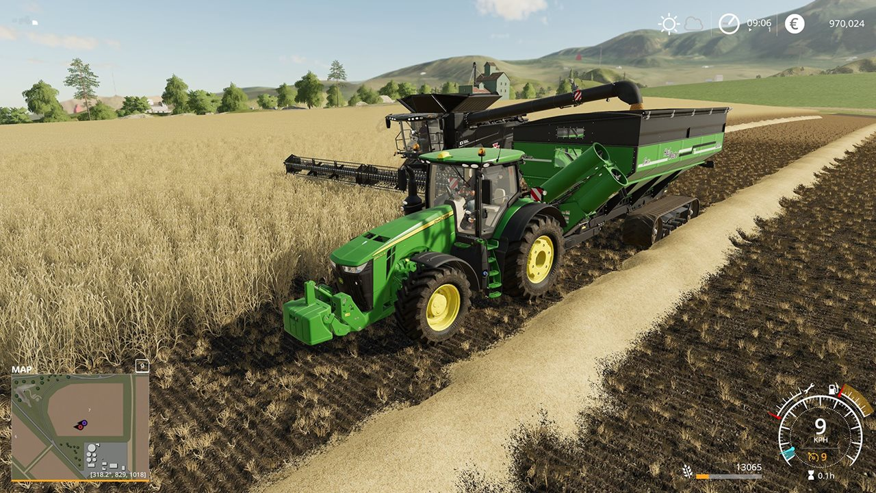 Farming simulator New Mission System