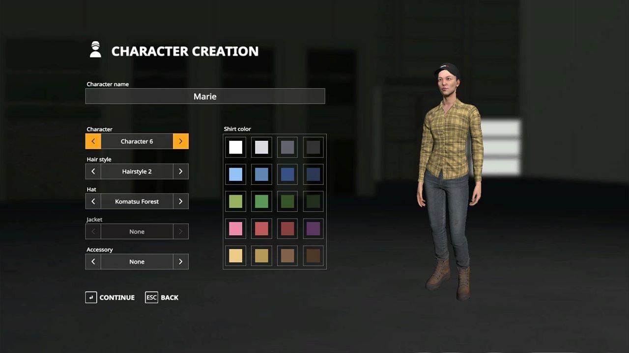 Farming Simulator 19 Character Customisation