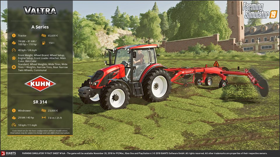 FactSheetFriday farming simulator 19 news