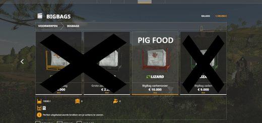 10K capacity bigBag Pig Food v 1.0