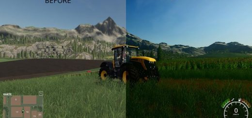 Better graphics FS19 - Shadermod