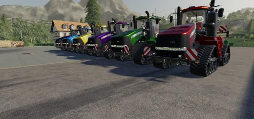 Case IH quadtrack metallic multicolor v 1.0