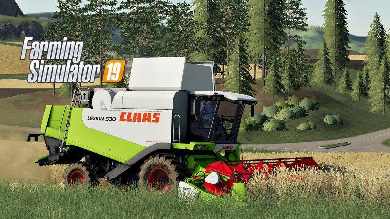 Claas Lexion 530 v 1.0