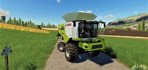 Claas Lexion 780 Combine v 1.0