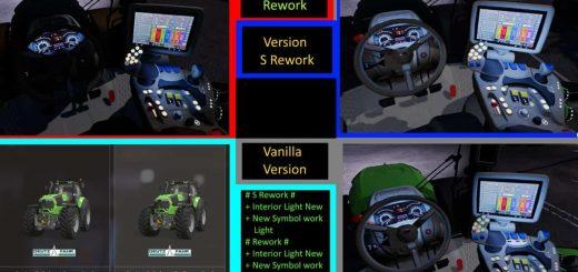 Deutz Fahr Serie 9 Color S Rework v 1.0