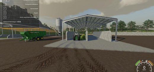 Double Silage Silo Placeable v 1.0