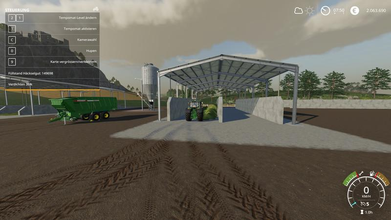 Double Silage Silo Placeable v 1 0 | FS19 mods, Farming