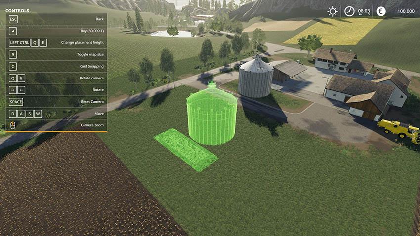 Farm Silo v 1 1 | FS19 mods, Farming simulator 19 mods
