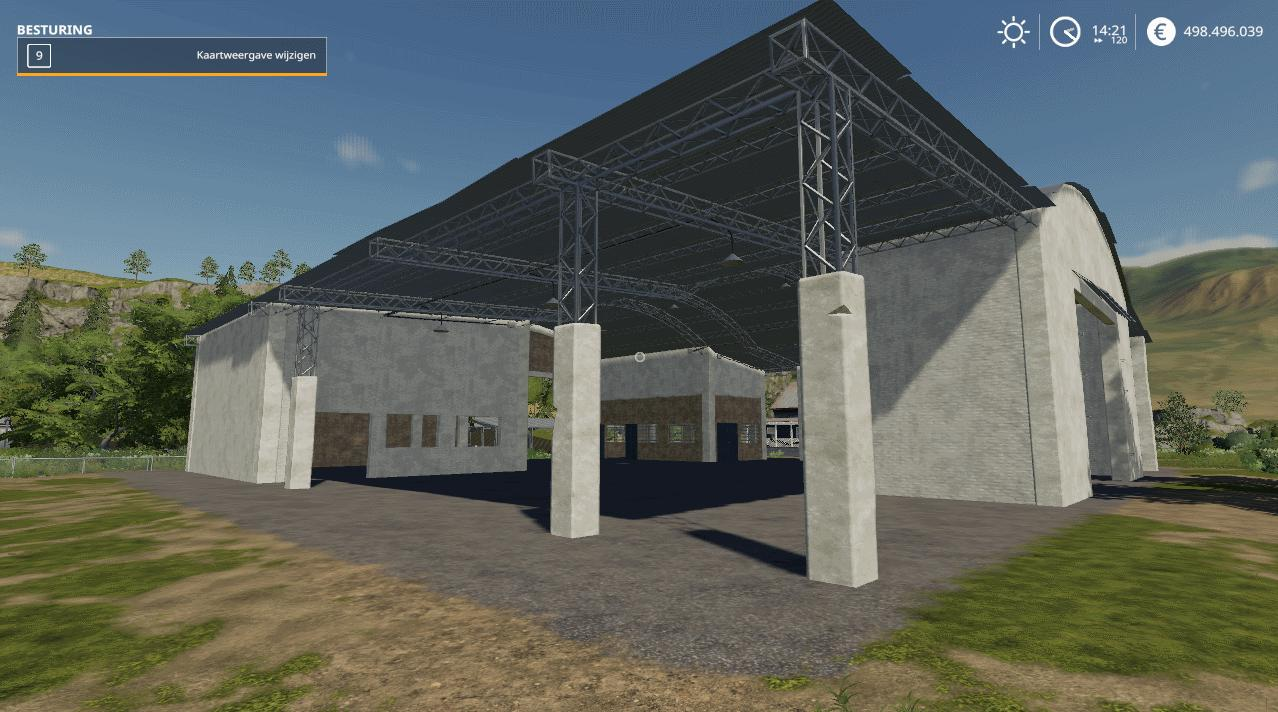 Farm Storage Barn from Estancia Lapacho v 1.0