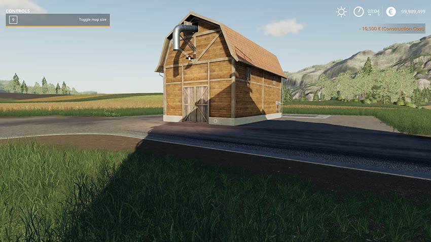Small hay warehouse v 1.0
