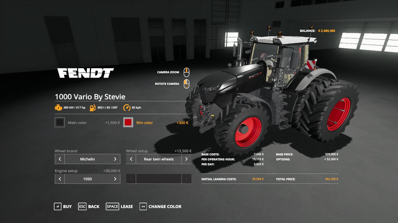 Fendt 1000 Vario by Stevie