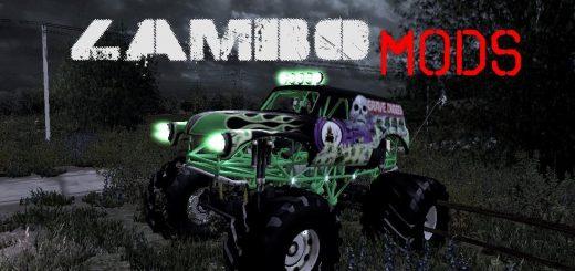 Grave digger Monster Truck v 1.0