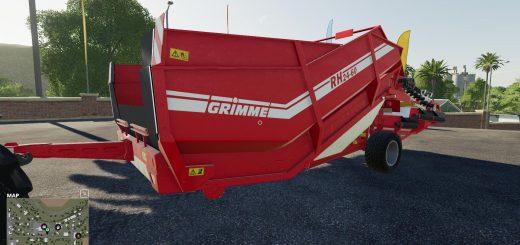 Grimme RH2460 Edit Silage v 1.0