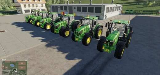 John Deere 6R with SeatCam v 1.0