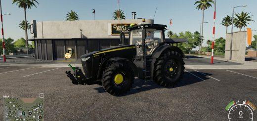 John Deere 8R Black