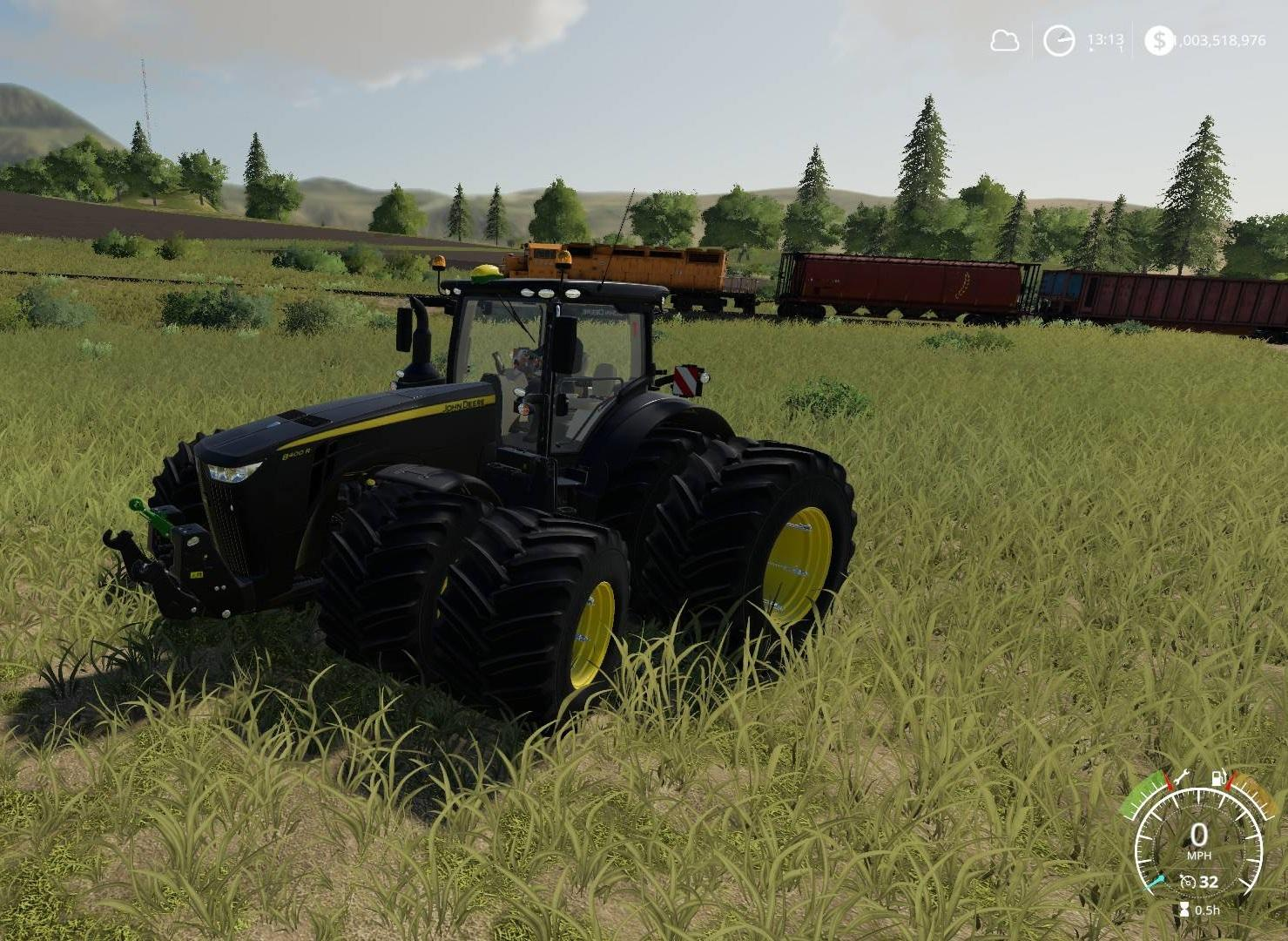 John Deere Black Shadow v 1.0
