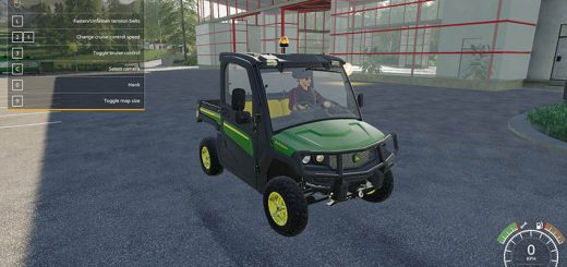 John Deere XUV865M Gator Collectors Edition v 1.0
