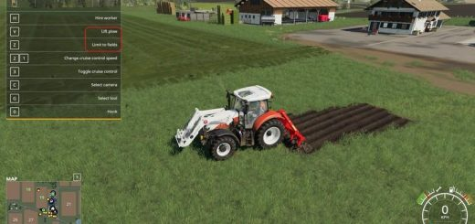 Kuhn DC401 with plow function v 1.0