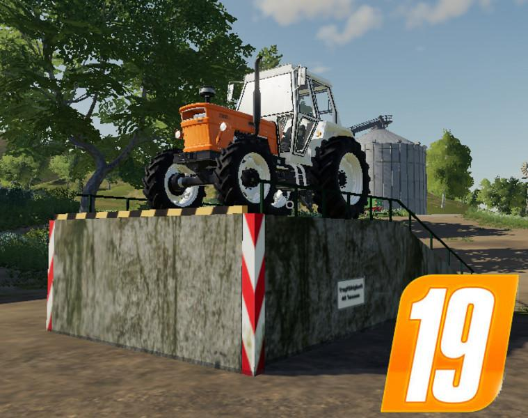 Large loading ramp Placeable v 1.0