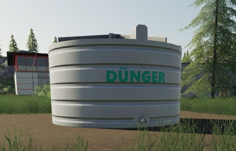 Liquid Fertilizer Tank - Placeable v 1.0