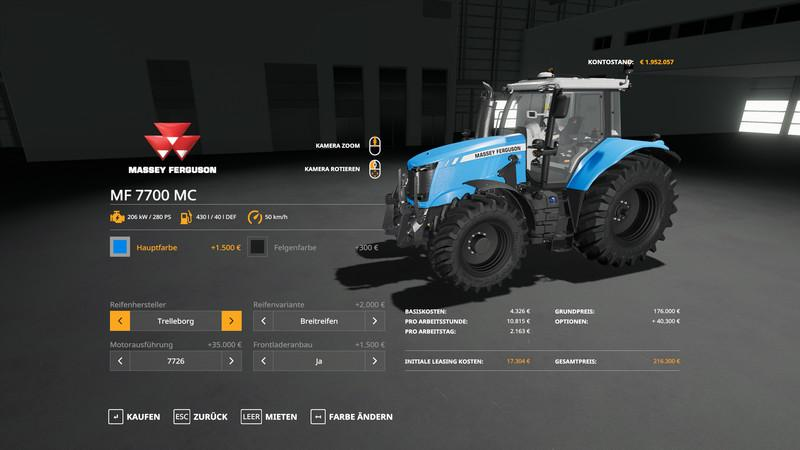 Massey Furgusun MF7700 - MultiColor v 1.0