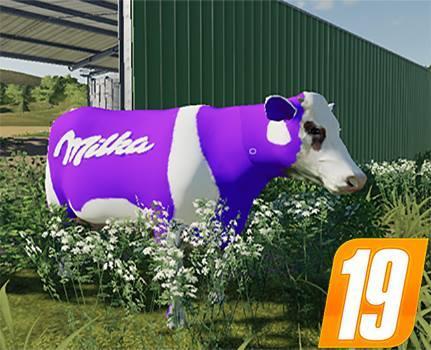 Milka Kuh mit Sound v 1.0