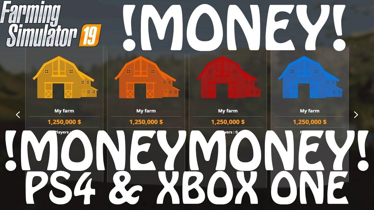 Money Cheat on PS4 & Xbox One v 1.0