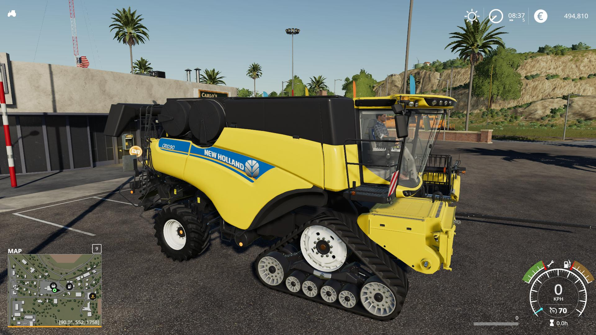 New Holland CR1090 v 1.0