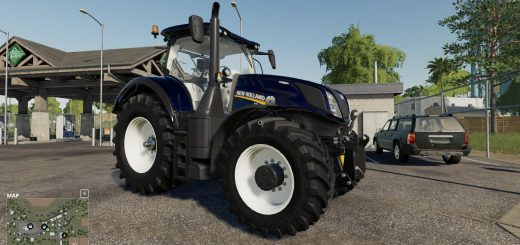 New Holland T7 Blue Chrome Power v 1.0