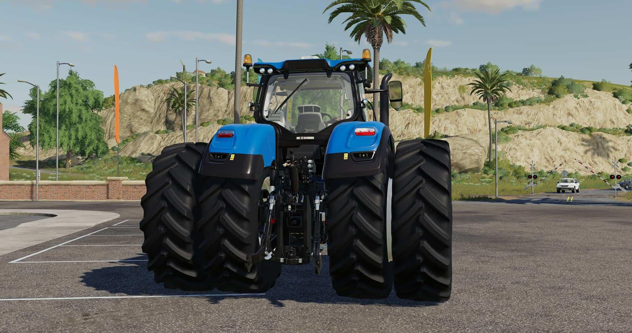 New Holland T7 Series with Michelin Double Wheels v 1.0