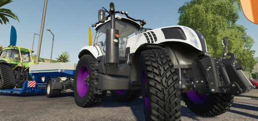 New Holland T8 Tuning v 1.0