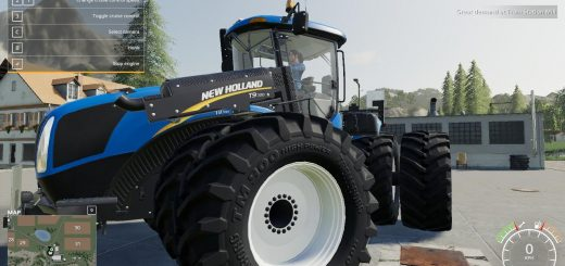 New Holland T9 Improved v 1.0