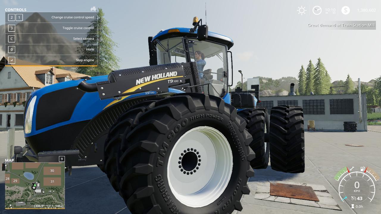 New Holland T9 Improved v 1.0