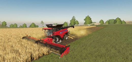 New Holland combine and header pack v 1.0