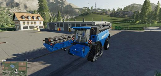 New Holland cr1090 & superflex 45ft v 1.0