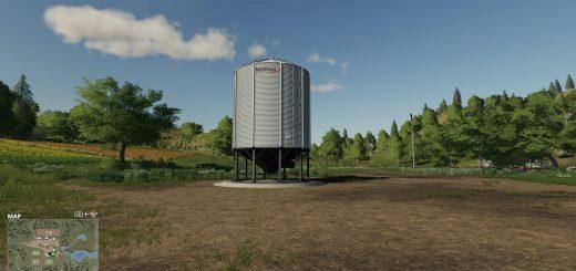 Placeable Meridian Metal Seeds Station v 1.0