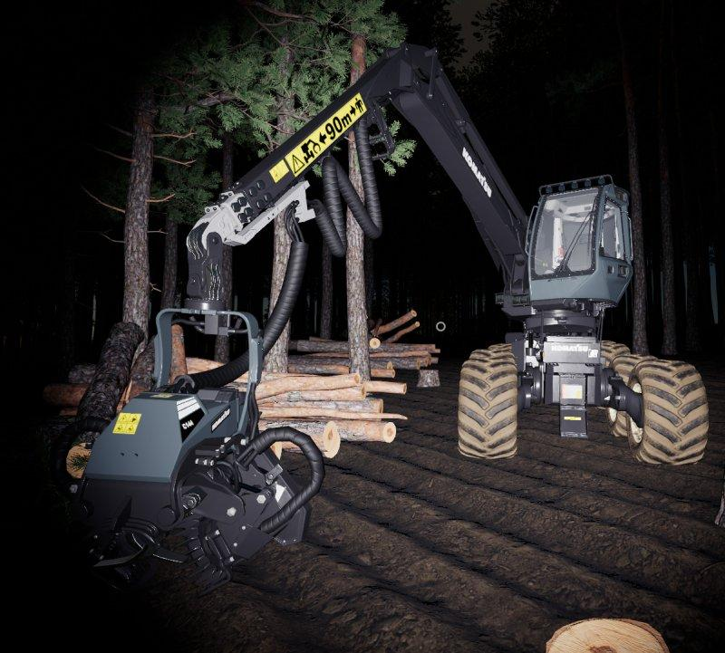 Real Forestry Machinery v 1.0