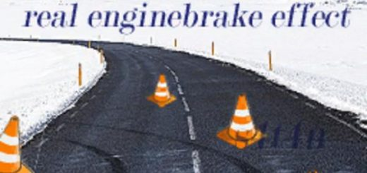 Real engine braking effect beta