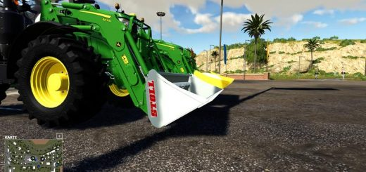 STOLL XL Front Loader Shovel 5000L v 1.0.0.1