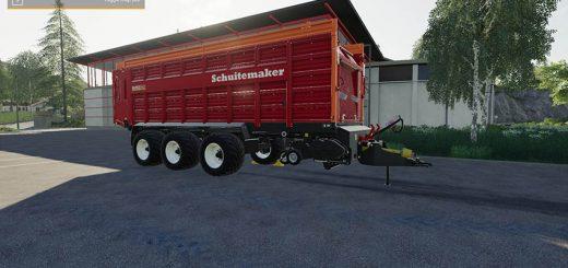 Self loading wagon Rapide 8400W v 1.0