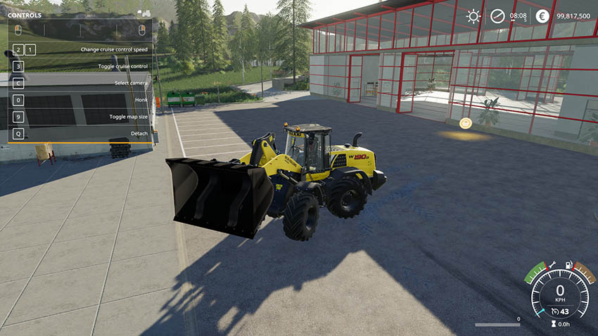 Wheel loader bucket 10K v 1.0
