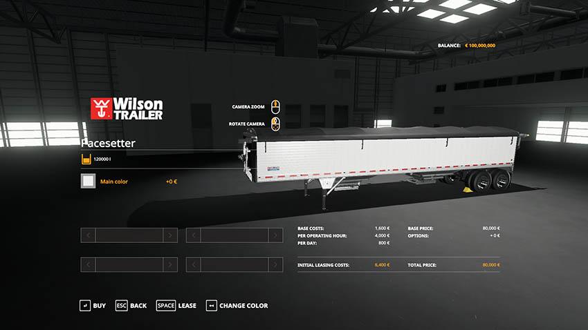 Wilson Pacesetter v 1.0