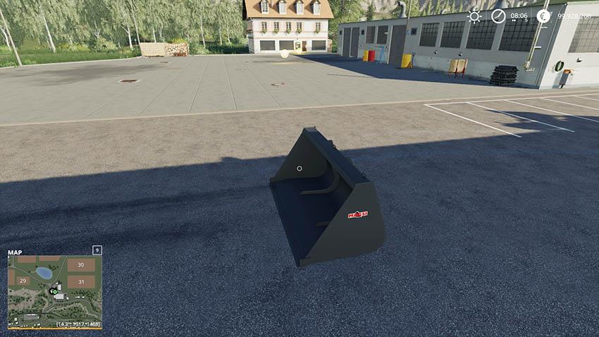 XL Telehandler Shovel 6000Liter v 1.0