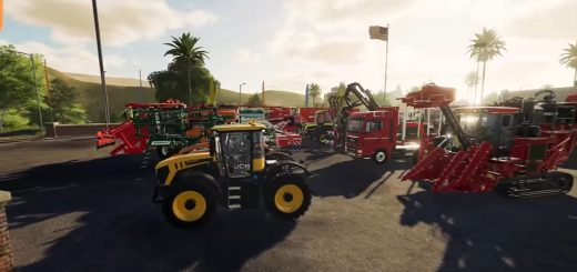 Farming Simulator 19 garage