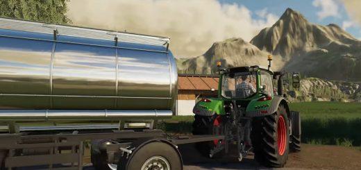 Transporting Milk fs19