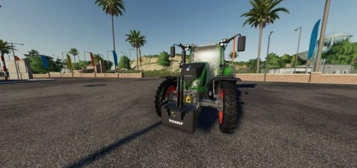 1500KG Fendt Weight v 1.0