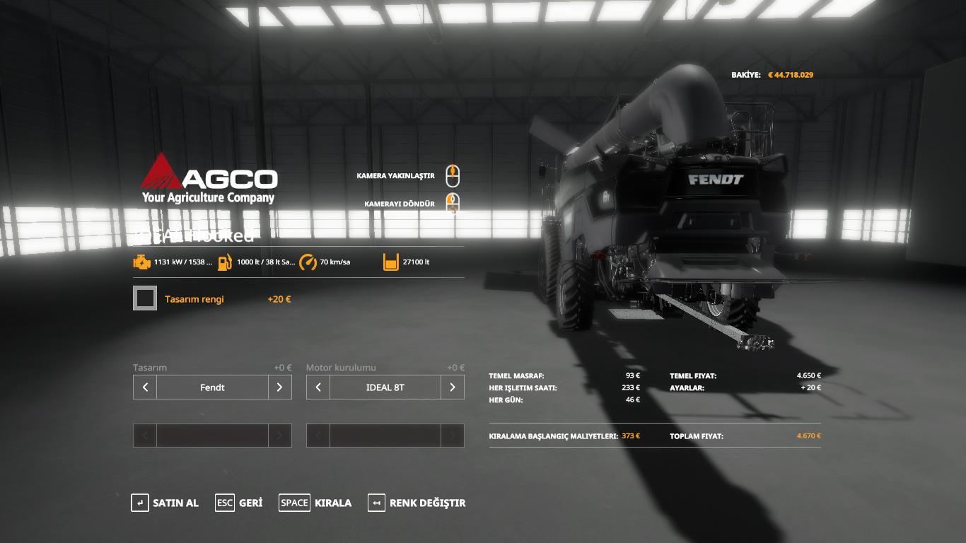 Agco ideal9 Hooked v 1.1