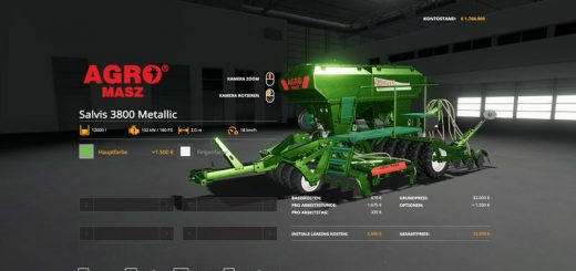 Agromasz Salvis3800 - MetallicEdit v 1.0