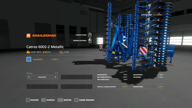 Amazone Pack Metallic Edit v 1.0